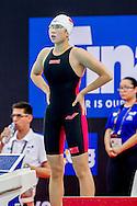 TANG Yuting CHN<br /> 100 Freestyle Women Heats<br /> Day02 26/08/2015 - OCBC Aquatic Center<br /> V FINA World Junior Swimming Championships<br /> Singapore SIN  Aug. 25-30 2015 <br /> Photo A.Masini/Deepbluemedia/Insidefoto