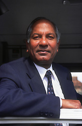 Portrait of male bus driver wearing blazer jacket and tie,