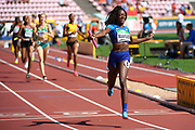 Team USA wins the Gold Medal in 4X400 Metres Relay Women during the IAAF World U20 Championships 2018 at Tampere in Finland, Day 6, on July 15, 2018 - Photo Julien Crosnier / KMSP / ProSportsImages / DPPI