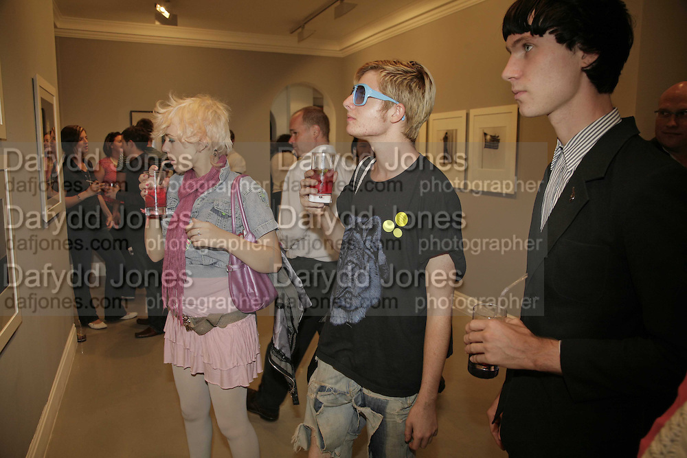 ANNA TREVELIAN, DOMINIC JONES AND TOMAS HEIN, Photos by Robert Mapplethorpe: Still Moving & Lady, Alison Jacques Gallery, 4 Clifford Street, London, W1, Dinner afterwards at the  The Dorchester with performance by Patti Smith, 7 September 2006.  ONE TIME USE ONLY - DO NOT ARCHIVE  © Copyright Photograph by Dafydd Jones 66 Stockwell Park Rd. London SW9 0DA Tel 020 7733 0108 www.dafjones.com