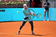 Veronika Kudermetova of Russia during the Mutua Madrid Open 2021, Masters 1000 tennis tournament on May 3, 2021 at La Caja Magica in Madrid, Spain - Photo Laurent Lairys / ProSportsImages / DPPI