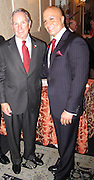**EXCLUSIVE**.Tommy Belisis & NY Mayor Mike Bloomberg..Tommy Belisis, CEO of John Thomas Financial receives Man of The Year for leadership and services from Michael Bloomberg..Fundraiser for Mike Bloomberg Campaign..Villa Veron Manor..Bronx, NY, USA..Thursday, October 22, 2009..Photo By Celebrityvibe.com.To license this image please call (212) 410 5354; or Email: celebrityvibe@gmail.com ; .website: www.celebrityvibe.com.