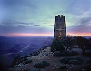 Desert View, Watchtower, Colorado River, sunrise, Grand Canyon, National Park, AZ