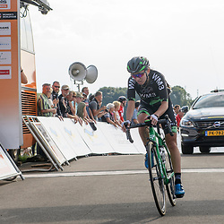 03-09-2017: Wielrennen: Boels Ladies Tour: Sittard<br /> Kasia Niewiadoma komt als derde over de streep