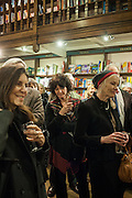 RUTH PADEL; MARTHA PAPADAKIS;, William Fitzgerald, Book launch ,  'How to read a Latin poem - if you can't read Latin yet' published by OUP.- Daunts bookshop Marylebone, London 21 February 2013.