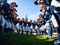 February 9, 2018; Pioneer Softball Stadium, Hayward, California, USA; Softball: Cal State Monterey Bay Otters at Cal State East Bay Pioneers; <br /> <br /> Photo credit: Kelley L Cox- KLC fotos