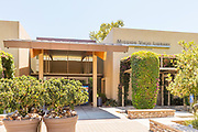 Front Entrance to the Mission Viejo Library