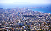 View over high density buildings in the city centre of Trapani, Sicily, Italy