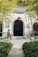 temple of gucheng park Shanghai in popular republic of China