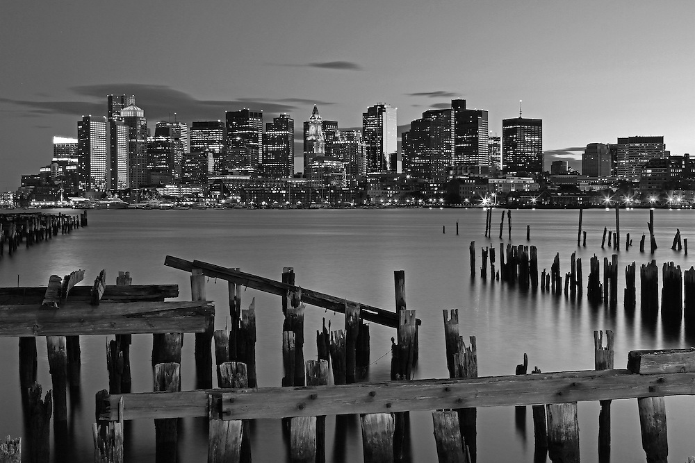 Photo prints, canvas prints, metal prints, framed prints, matted prints, print only at <br /> <br /> http://juergen-roth.pixels.com/featured/east-boston-view-of-boston-juergen-roth.html