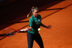 May 3, 2019 - Madrid, MADRID, SPAIN - Monica Puig of Puerto Rico during the Mutua Madrid Open 2019 (ATP Masters 1000 and WTA Premier) tenis tournament at Caja Magica in Madrid, Spain, on April 28, 2019. (Credit Image: © AFP7 via ZUMA Wire)