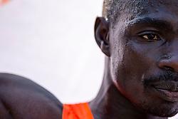 07-04-2019 NED: 39e NN Rotterdam Marathon, Rotterdam<br /> The winner kenyan Marius Kipserem during the NN marathon of Rotterdam.