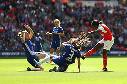 Danielle Carter of Arsenal Ladies shoots - Mandatory byline: Jason Brown/JMP - 14/05/2016 - FOOTBALL - Wembley Stadium - London, England - Arsenal Ladies v Chelsea Ladies - SSE Women's FA Cup