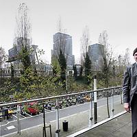 Nederland, Amsterdam , 4 december 2009..ir. K.W. (Klaas) de Boer, directeur van bureau Zuidas Amsterdam..Foto:Jean-Pierre Jans