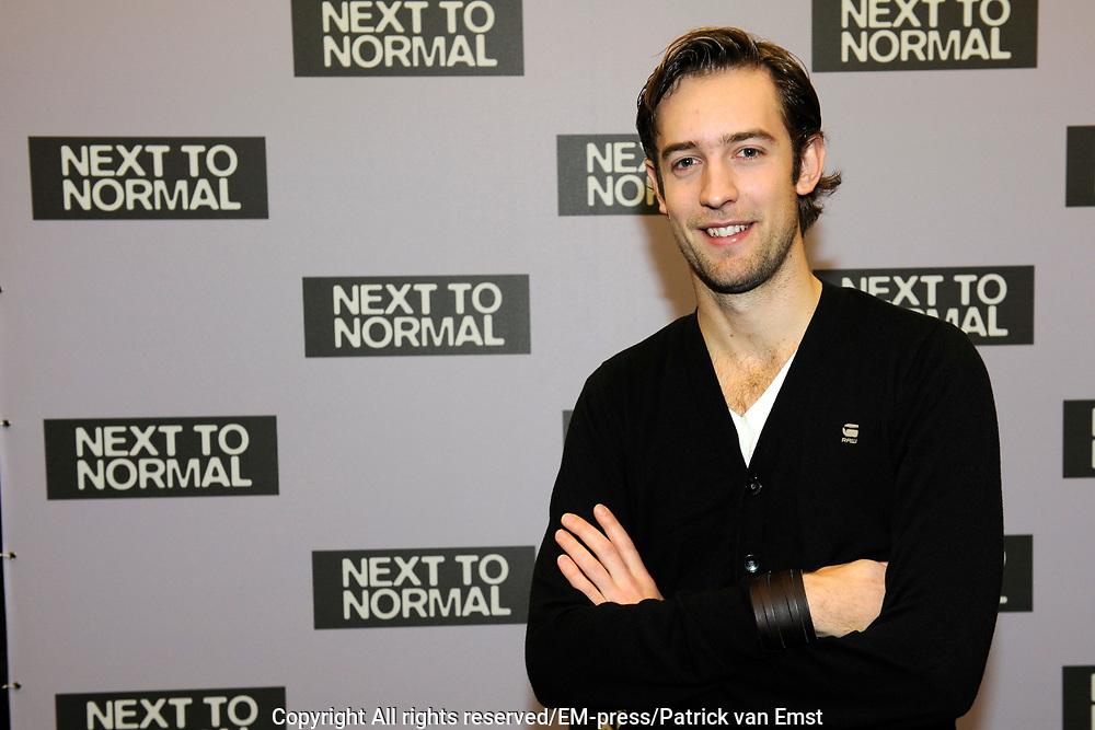 Perspresentatie Next to Normal - de musical in de Dutch Studio's Amsterdam.<br /> <br /> Op de foto:  Jonathan Demoor