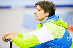 Edvard Kolar, coach of Slovenia during Qualifiying day  of Artistic Gymnastics World Challenge Cup Ljubljana, on April 18, 2014 in Hala Tivoli, Ljubljana, Slovenia. Photo by Vid Ponikvar / Sportida