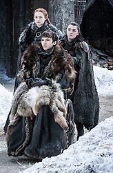 September 1, 2017 - Sophie Turner, Isaac Hempstead Wright, Maisie Williams..'Game Of Thrones' (Season 7) TV Series - 2017 (Credit Image: © Hbo/Entertainment Pictures via ZUMA Press)
