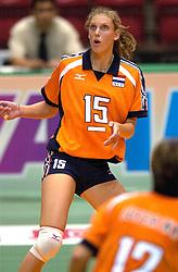 17-06-2000 JAP: OKT Volleybal 2000, Tokyo<br /> Nederland - Italie 2-3 / Ingrid Visser