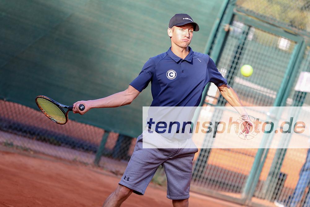 Roman Tennert (Tennis-Club SCC Berlin), Grunewald Open 2018 - Senioren, Finals, Berlin, 16.09.2018, Foto: Claudio Gärtner