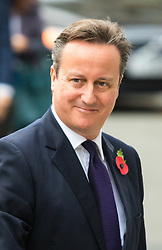 Chatham House, London, November 10th 2015. British Prime Minister David Cameron arrives at Chatam House to outline his demands for EU reform.  // Licencing Contact: paul@pauldaveycreative.co.uk Mobile 07966 016 296