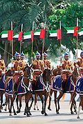 Abu Dhabi army on horseback