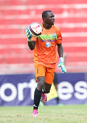Gor Mahia keeper Fredrick Odhiambo in action against Nakumatt FC during their Sportpesa Premier League tie at Nyayo Stadium in Nairobi on July 30, 2017. Gor won 2-0. Photo/Fredrick Omondi/www.pic-centre.com(KENYA)