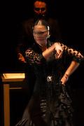 Bailaora flamenca on stage in Rafael Amargo's Gala Flamenca