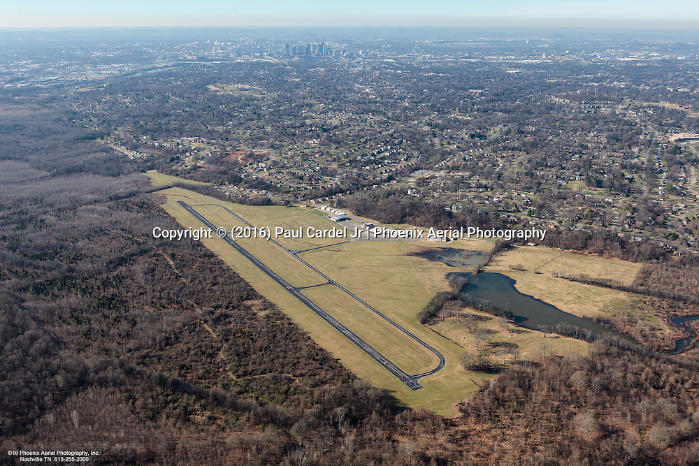 Aerial Photo Of The Former Cornelia Fort Airpark (M88) Closed After The 2010 Flood Is Now Part Of The Nashville Greenway.