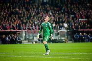 04.09.2015. Copenhagen, Denmark. <br /> The Danish goalkeeper Kasper Schmelchel during their UEFA European Champions qualifying round match at the Parken Stadium. <br /> Photo: © Ricardo Ramirez.