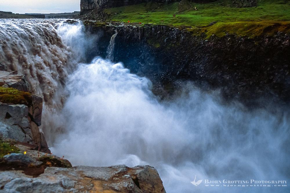 Iceland. Dettifoss is a pwerful waterfall in Vatnajökull National Park on the Jökulsá á Fjöllum river.