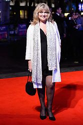 © Licensed to London News Pictures. 11/10/2017. London, UK. CAROLE ASHBY attends the European film premiere of Stars Don't Die In Liverpool showing as part of the 51st BFI London Film Festival. Photo credit: Ray Tang/LNP