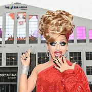RuPaul's Drag Race champion Bianca Del Rio arrives at London's SSE Arena, Wembley, London, UK