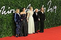 Lauren Hutton, Roberta Armani, Cate Blanchett, Giorgio Armani and Julia Roberts, The Fashion Awards 2019, Royal Albert Hall, London, UK, 02 December 2019, Photo by Richard Goldschmidt