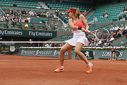 France's Alize Cornet won in the third round of the 2017 French Tennis Open in Paris, France on June 3rd, 2017. Photo by Henri Szwarc/ABACAPRESS.COM