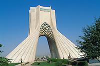 Iran. Teheran. Tour Azadi (Shahyade). // Azadi Tower (Shahyade). Teheran. Iran