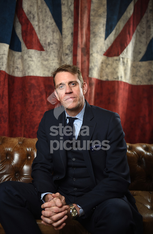 Ben Elliott, British businessman and philanthropist, pictured in the central London offices of his company, Quintessentially Group.<br /> Elliott is cycling from Slovenia to Austria for The Felix Project.<br /> Picture by Daniel Hambury/@stellapicsltd 07813022858<br /> 12/02/2018