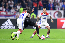 October 19, 2018 - Lyon, France - 11 Memphis DEPAY (ol) - 22 Sada THIOUB  (Credit Image: © Panoramic via ZUMA Press)