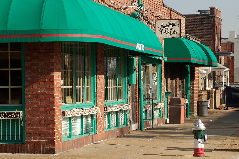 The Hill neighborhood in St. Louis, Missouri