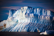 """Humboldt Glacier, Kane Basin in the far northwest of Arctic Greenland, is the widest glacier in the northern Hemisphere. This mage can be licensed via Millennium Images. Contact me for more details, or email mail@milim.com For prints, contact me, or click """"add to cart"""" to some standard print options."""