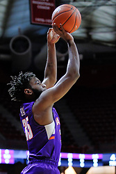 NORMAL, IL - January 05: John Hall during a college basketball game between the ISU Redbirds and the University of Evansville Purple Aces on January 05 2019 at Redbird Arena in Normal, IL. (Photo by Alan Look)