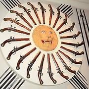 Tower Of London Armoury Pistol Display - London