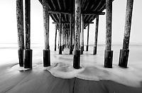 San Buenaventura State Beach, CA.