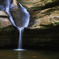 """""""Cedar Falls""""<br /> <br /> Cedar Falls in Hocking Hills. Hocking State Park, Ohio."""