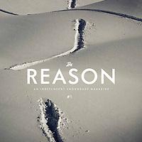 The Reason snowboard magazine, cover.