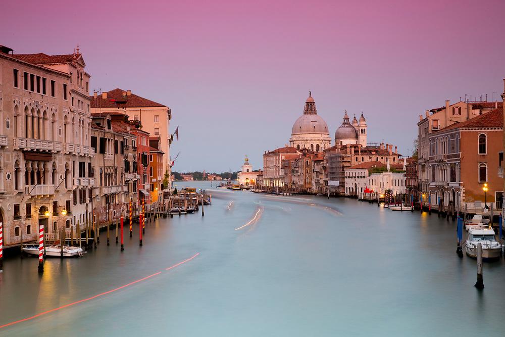 Venice Sunset<br /> Venice, Italy on September 28, 2014