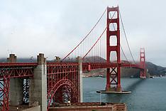 Walking Across The Golden Gate Bridge | October 2008