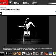 Codigo Dance Project images featured in Reuters Pictures