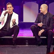 NLD/Hilversum/20120205 - Concert tbv Stichting DON, optreden Jeroen van der Boom en Lange Frans Frederiks