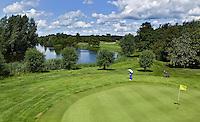 ZWOLLE - Hole 11, par 5, Golfclub Zwolle. FOTO KOEN SUYK