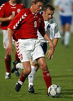 Fotball<br /> Kvalifisering til EM 2004<br /> 11.10.2003<br /> Bosnia v Danmark 1-1<br /> Norway Only<br /> Foto: Digitalsport<br /> <br /> Jon Dahl Tomasson